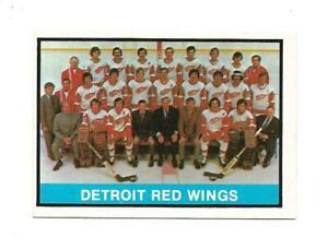 1974-75 OPC:#267 Detroit Red Wings Team