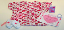 AMERICAN GIRL DOLL 6 PIECE HOSPITAL GOWN SET! HELP 4 KIDS HOSPITAL STAY~SURGERY!