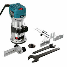 "Makita RT0700CX4 1/4"" Router/Laminate Trimmer With Trimmer Guide 110V"