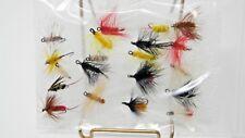 20 Various Fly Fishing Flies- Pinks, Yellows, Blacks and More.