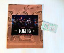 Eagles 1995 World Tour Japan Concert Program Book w/Ticket Glenn Frey Don Henley