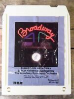 TURNED ON BROADWAY Luther Henderson (8-Track Tape, AFS1-4327)