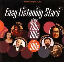 EASY LISTENING STARS OF THE 70's - 80's & 90's / VARIOUS ARTISTS - 4 CD BOX SET