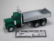 HO 1/87 Promotex # 6252 Peterbilt Dual Axle Dump Truck -  Green