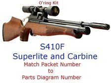 Air Arms O'ring Kit S410F STD