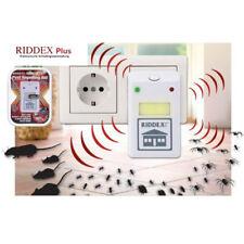 Anti Nuisible Force Riddex Plus Répulsif Araignées Insectes Souries Rats Neuf