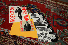 """JOE JACKSON I'M THE MAN 5 X 7"""" + POSTER EX ORIG USA 1979 TOP RARE"""