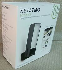 NETATMO PRESENCE security outdoor camera LED floodlight smart detection alert