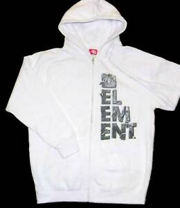 NEw Element full zip Hoodie Sweatshirt Skateboarding Jacket Boys L-MSRP $44