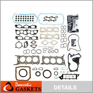 Full Gasket Set Fits 09-11 Hyundai Genesis Kia Borrego 3.8L DOHC G6DA G6DB