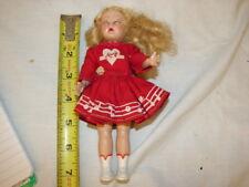 Vintage Mary Hartline Majorette Doll. 50'S Lingerie Lou Doll 7 1/2 Inch