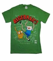 Authentic Cartoon Network Adventure Time Algebraic Finn & Jake T Shirt Xl