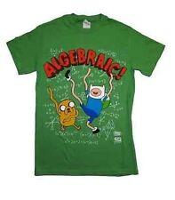 Authentic Cartoon Network Adventure Time Algebraic Finn & Jake T Shirt Xl