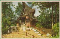 Vintage Postcard Florida FL Snow White Seven Dwarfs Busch Gardens Tampa Florida