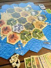 Settlers of Catan, Personalized Catan Game Board, Catan Board  2-4 Player, +5-6