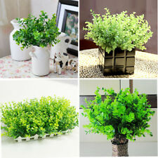 5PCS Household Bouquets Silk Home Decor Floral Artificial Green Plant Garlands t