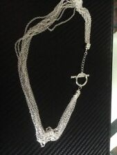 Sterling Silver Beauty Chain Fine Necklaces & Pendants without Stones