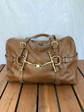 GUCCI 85th Anniversary Horsebit Limited Edition Brown Leather Satchel Bag