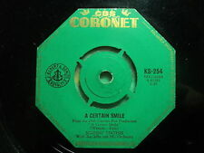 """Johnny Mathis """"A Certain Smile"""" Classic 50s Hit Oz 7"""""""