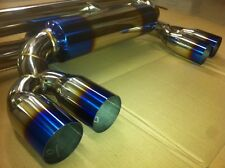 BMW E46 M3 Exhaust Back Box rear silencer Stainless steel Muffler // cat 3.2