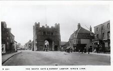 South Gate Honest Lawer Pub King's Lynn unused RP old postcard WHS KIngsway