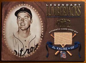 2001 Donruss Classics Legendary Lumberjacks #LL-15 Al Kaline Detroit Tigers Card