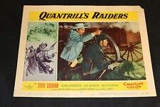 1958 Quantrill's Raiders Lobby Card 58/164 #5 Steve Cochran (C-4)