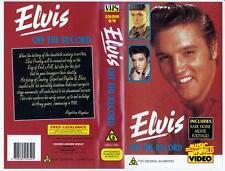 Elvis - Off The Record,  1994  *RARE VHS TAPE*