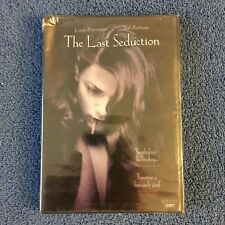The Last Seduction (DVD, 2002, Full Screen, Widescreen) Brand New, Damaged Case