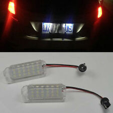 2x 18LED License Plate Light For FORD FOCUS 5D 08-2013 FIESTA MONDEO C-MAX S-MAX