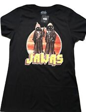 Star Wars Throwback Jawas Retro Image Juniors Fitted Shirt NWT L