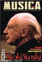 Música: Stokowski, Gould, Monsaingeon, Giuliani, N 149 Septiembre 2003 Revista
