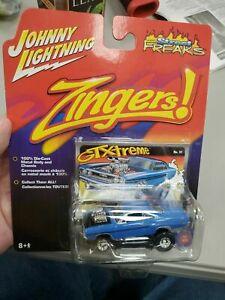 Johnny Lightning 70 1970 Plymouth GTX Zingers GTXtreme Blown Hot Rod (b1)