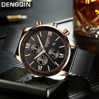 Fashion Men's Watches Casual/Business Stainless Steel Quartz Analog Wrist Watch
