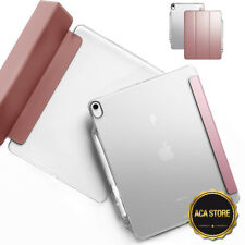 Smart Trifold Case For Apple iPad Pro 12.9 2018 3rd Gen Tablet Cover (Rose Gold)