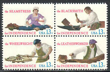 SC#1720a - 13c Skilled Hands Block of 4 MNH