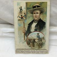 Vintage Postcard Sam Houston Bamforth & Co co 1909 Donaldson