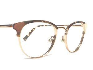 Warby Parker Blair 2233 Women's Gold Cat's Eye Rx Eyeglasses Frames 49/19~145