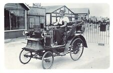 Nostalgia Postcard Joy rides Guy's Hospital 1932, 1898 Benz Repro Card #N428
