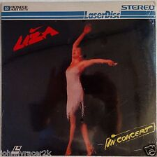 LIZA MINNELLI Laserdisc Live in Concert LD New/Sealed