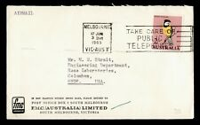 Dr Who 1965 Australia Melbourne Airmail To Usa C219612