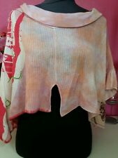 SWEATER HOUSE superbe poncho Taille 38/40 TBE