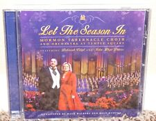 Let the Season In CD Mormon Tabernacle Choir LDS Christmas Songs Deborah Voigt