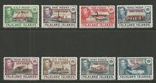 Falkland Is Dep 1944 KGVI South Georgia--Attractive Topical (3L1-8) MH