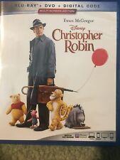 Disney's Christopher Robin - Blu-Ray + DVD + Digital Code - Ewan McGregor