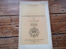 RARE PREDETERMINATION DE L'AVENIR COSTESEQUE ASTROLOGIE PREMONITION PHILOSOPHIE