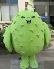 Advertising Durian Fruits Mascot Costume Adult Halloween Cosplay Party Dress New