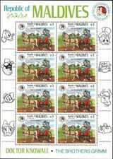 VINTAGE CLASSICS - Maldives - 1146 Disney characters Brothers Grimm Dr. Knowall