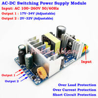 AC-DC Converter Switching Power Module 110V 220V 230V to 5V 12V 24V Dual Output