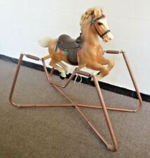 VINTAGE 1966 Hobby HORSE ROCKING HORSE Spring nice condition REMPEL